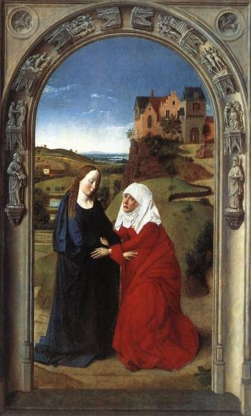 BOUTS Dieric the Elder The Visitation